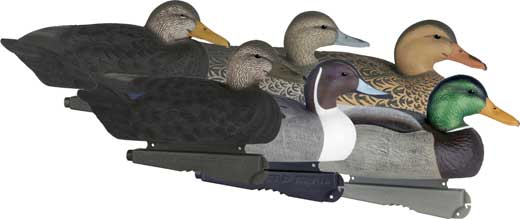 SIZE PUDDLER PACK II DUCK DECOYS AVERY GHG GREENHEAD GEAR LIFE