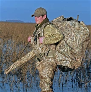 Picture of **SALE** Back Pack Floating Decoy Bag (24 decoys) by Avery Outdoors Greenhead GHG