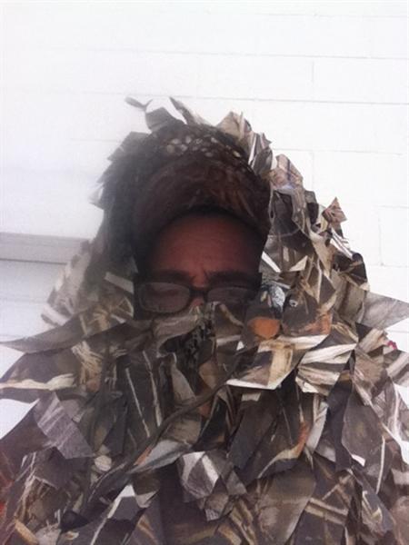 Prairiewind Decoys Ghillie Facemasks By Rancho Safari