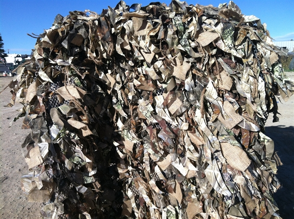 Prairiewind Decoys Ghillie Blind Covers 4 6 Quot X18 By Rs