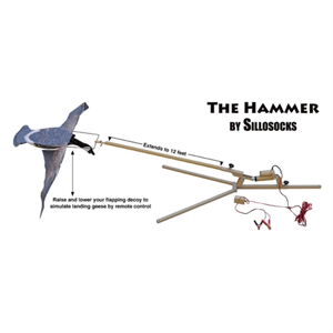 Picture of ***SALE***Hammer Machine (SS4502) by Sillosocks Decoys