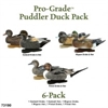Picture of **FREE SHIPPING** Pro-Grade  Puddler Pack Duck Decoy 6 pack (AV73190) by Greenhead Gear GHG Avery Outdoors