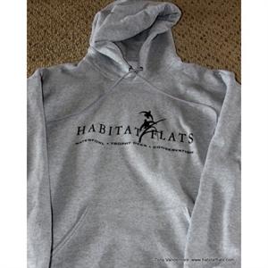 Picture of Habitat Flats Heather Grey Hooded Sweatshirt