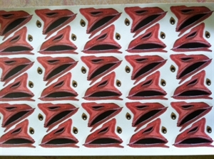 Picture of Sillosocks Bill and Eye Vinyl Stickers