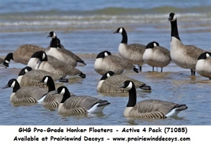 Picture of  **FREE SHIPPING **Pro-Grade Honker Floaters ACTIVE 4 pk (AV71085) by Greenhead Gear GHG Avery Outdoors