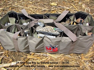 Picture of 24 Slot Teal Decoy Bag (DAK16100) By Dakota Decoys