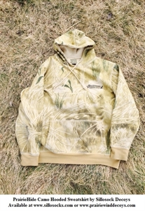 Picture of **SALE** Prairiehide Camo Hooded Sweatshirt by Sillosock Decoys