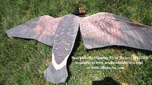 Picture of **SALE** Specklebelly Goose Flapping Flyer (SS1524) by Sillosocks Decoys