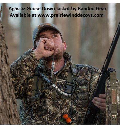fa1b8e048229e Prairiewind Decoys. **SALE** Agassiz Goose Down Jacket - by Banded Gear