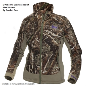 Picture of **FREE SHIPPING** D'Arbonne Womens Jacket - Max 5 Camo by Banded Gear
