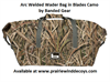 Picture of **FREE SHIPPING** Arc Welded Wader Bag- Blades Camo  by Banded Gear