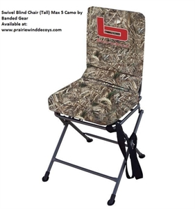 Picture of **FREE SHIPPING** Swivel Blind Chair (Tall)  by Banded Gear