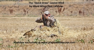 """Picture of **SALE** The """"Quick Draw"""" Layout Blind by Silent Wings/Ron Latshaw"""
