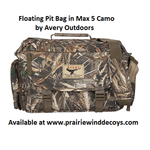 e0df7eb1d6f3 Floating Pit Bag by Avery Outdoors Greenhead Gear GHG. Choose Max 5 or KW1  Camo ...