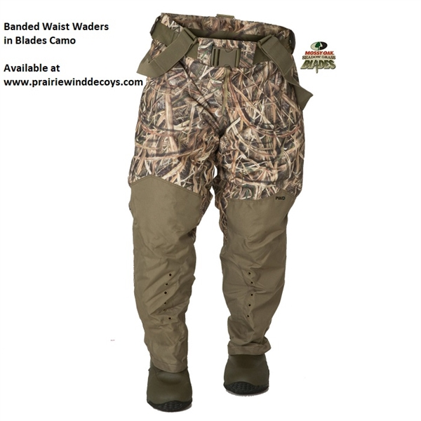 3ec5a0c96dc17 **FREE SHIPPING** Red Zone Breathable Uninsulated Waist Waders - by Banded  Gear
