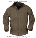 Picture of Full Zip Sweater - (Large) - A101003-MB-L