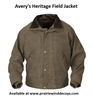 Picture of **FREE SHIPPING** Heritage Field Jacket by Avery Outdoors