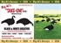 Picture of Black and White Greater Canada Goose Silhouette Decoys 1dz by Big Al's Decoys