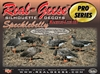 Picture of **SALE*** Pro Series Specklebelly Goose Silhouette Decoys by Real Geese Decoys