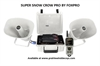 Picture of **FREE SHIPPING** Super Snow Crow Pro Electronic Game Caller - WHITE by Foxpro