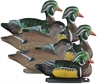 Picture of **FREE SHIPPING** Standard Wood Duck Decoys 6pk by Higdon Decoys