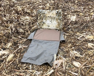 Picture of **SALE** Back Pack Layout Ghillie Blind by Sillosocks Decoys