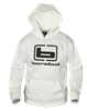 Picture of **FREE SHIPPING** White Hoodie by Banded Gear