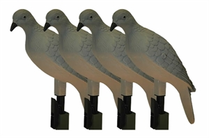 Picture of **FREE SHIPPING** CLIP ON DOVE DECOYS 4pk by MOJO OUTDOORS