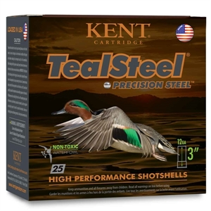 Picture of Kent 20ga Teal Steel Precision Steel Waterfowl Shotgun Shells - FREE SHIPPING - AMMO